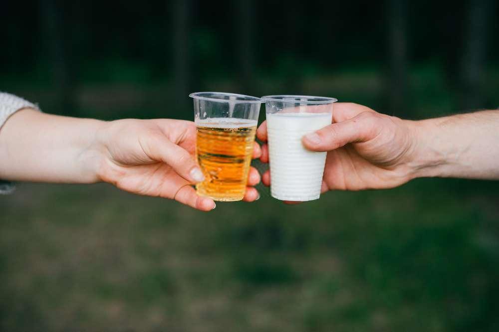 Kết hợp giữa bia và sữa tươi