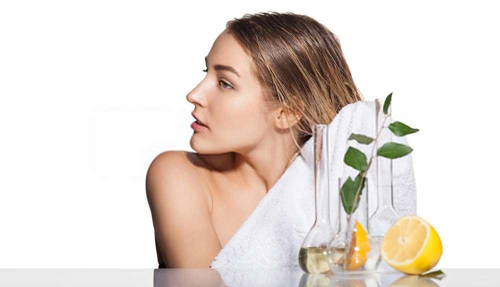 Nhuộm tóc đơn giản từ chanh